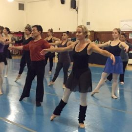 Welcome to ABA's Adult Ballet Program! Julie Lowe returns in January 2018!