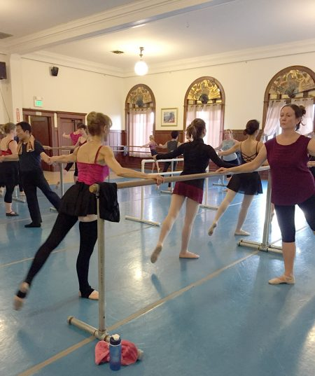 No Intermediate Evening Adult Ballet - please join us on Tuesdays!